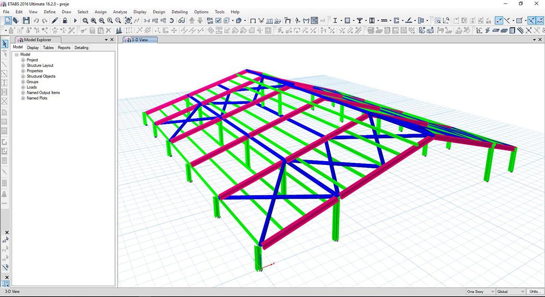 OSKO Yapı Mühendislik ve Danışmanlık ETABS V17 Eğitimi